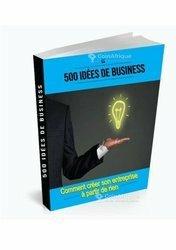 500 idées de business  avec business plan bien detaille