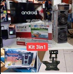 Kit android smart TV Star - Support - Régulateur
