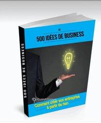 Livre 500 idées de business pour entreprendre