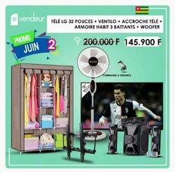 Armoire- TV- Ventilateur- Woofer