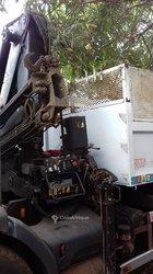 Location Camion benne - Grue 5 Tonnes