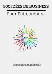 500 idées de business entreprendre