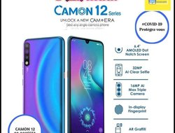Tecno Camon 12 series