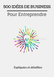 Livres 500 idées de business pour entreprendre