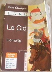 Livre Le Cid de Corneille