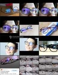Lunettes Anti-reflet bleu - monture