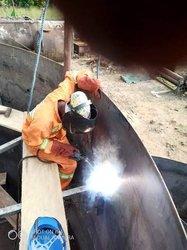 Travaux de chaudronnerie  - charpentes métallique  - tuyauterie industrielle