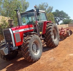 Tracteur agricole MF