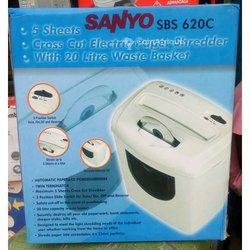 Déchiqueteuse Sanyo sbs