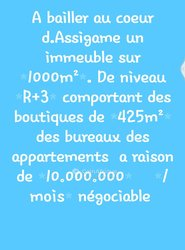 Location Immeuble 1000 m² - Assigame