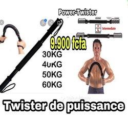 Twister de puissance -Bras flexible
