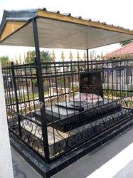 Confection de pierres tombales
