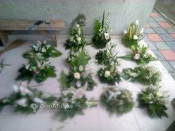 Fleurs naturelles pour décoration