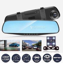 Rétroviseur - caméra de recul - caméra avant