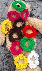 Chouchous - Boucles d'oreilles en laine