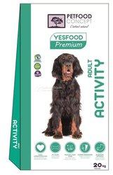 Croquettes chien Super Premium Yesfood
