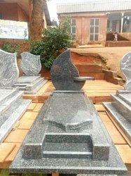 Confection de pierre tombale en granite