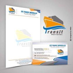 Création logo en-tête de page d'entreprise