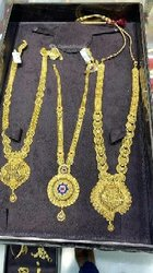 Collier en or plaqué