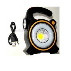 Lampe de camping portable avec panneau solaire