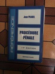 Livre droit pénal : procédure pénale