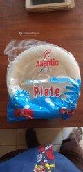 Assiette en plastique