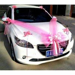 Service de décoration de voiture de mariage à domicile
