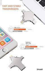 Clé USB multifonction