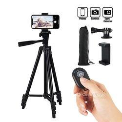 Trépied professionnel adaptable pour smartphone et appareils photos