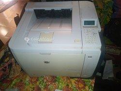 Imprimante HP blanc noir