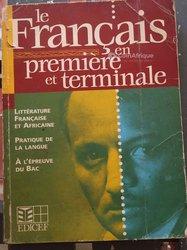 Livre de français 1ere