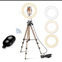 Trépied professionnel avec télécommande pour smartphone et appareil photo