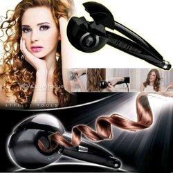 Fer à boucler électrique automatique cheveux - tissage