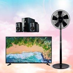 TV Sharp - Ventilateur Sharp - Mini boomer Sharp