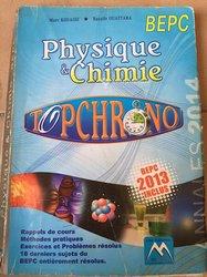 Fascicule de physique chimie bepc 2013