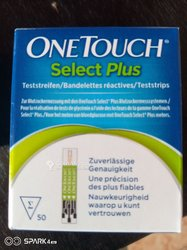 Bandelettes OneTouch Select Plus