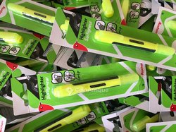Surligneurs vert fluorescent