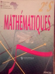 Livre de maths seconde