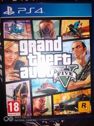 Jeu PlayStation GTA 5
