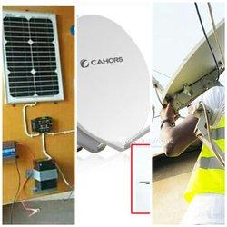 Formation en installation antenne parabolique et panneaux solaires