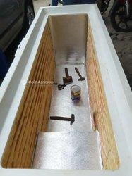 Fabrication de composition de réfrigérateur