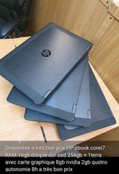 PC HP Zbook core i7 - Ram 16 Hdd 1 terra+ Nvidia
