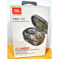 Jbl tws-t12 hd audio digital 2020