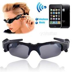 Paire de lunettes de soleil - écouteurs Bluetooth sans fil