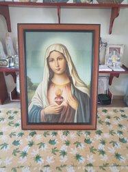 Tableau Cœur immaculé de Marie