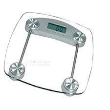 Pèse personne translucide