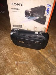 Caméra Sony hdr-pj410