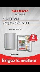 Mini Réfrigérateur Sharp - 90 litres
