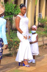 Robe de fille d'honneur
