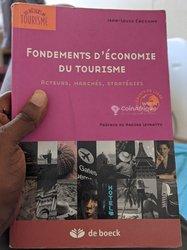 Livre: fondement d'économie du tourisme